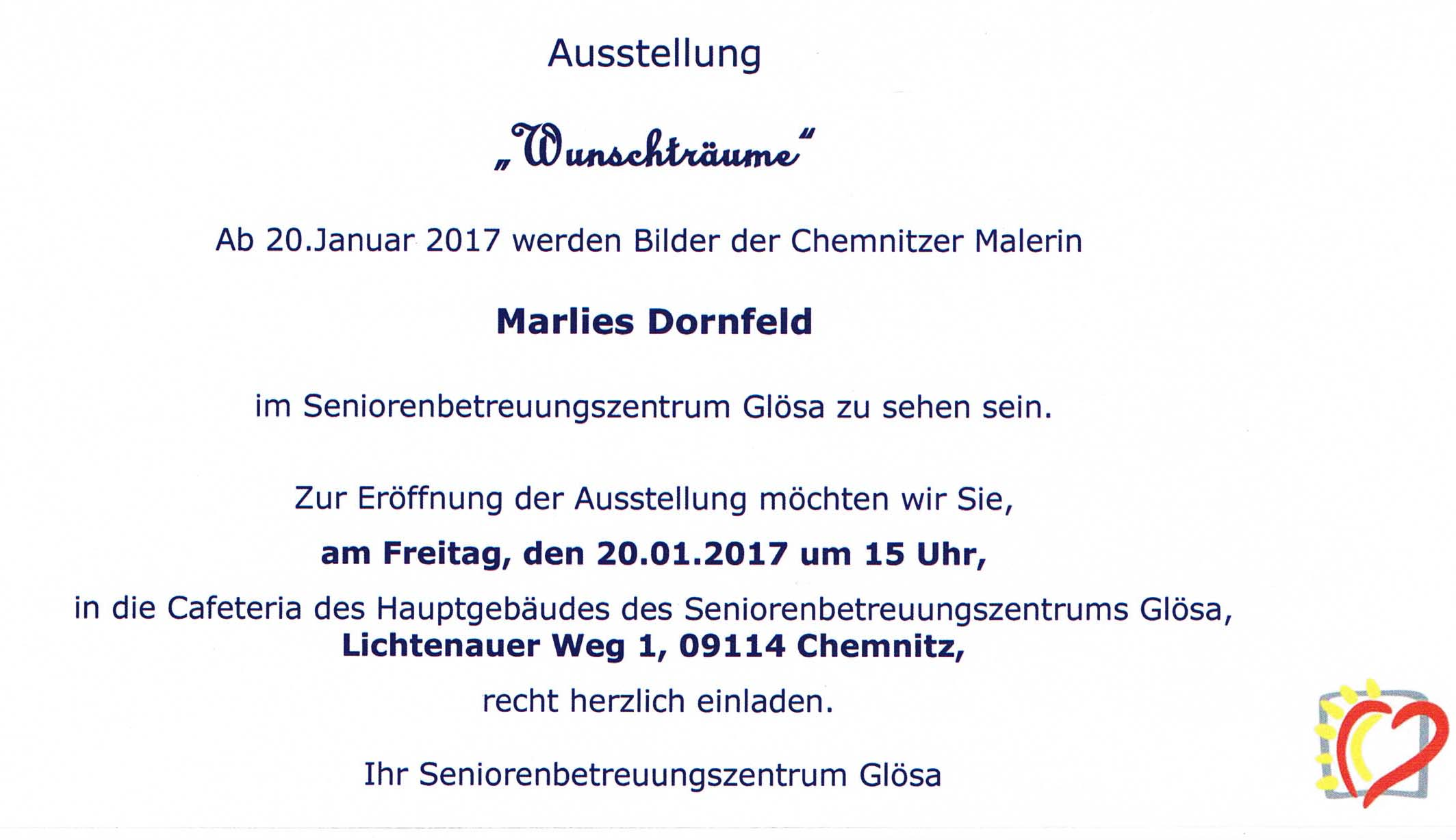 Vernissage Dornfeld 20012017